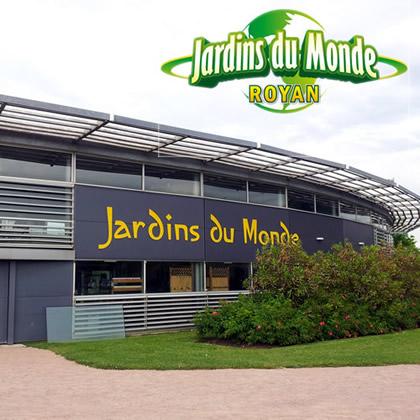 Jardins du monde sound design theme park cinematic for Jardin du bout du monde
