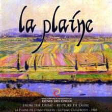 La Plaine de Gennevilliers - Gustave Caillebotte